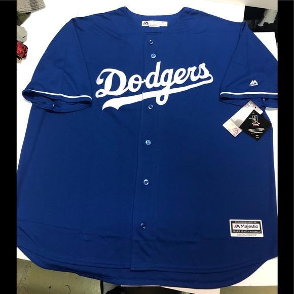 promo code dc793 6efa0 LA dodgers blue Cory Seager baseball jersey NWT